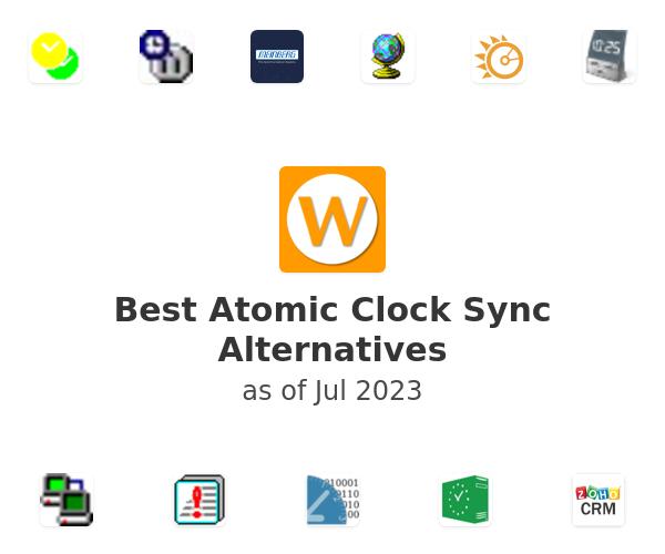 Best Atomic Clock Sync Alternatives
