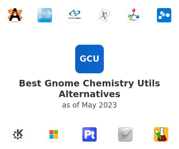 Best Gnome Chemistry Utils Alternatives