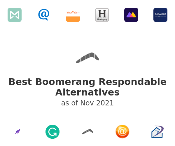 Best Boomerang Respondable Alternatives