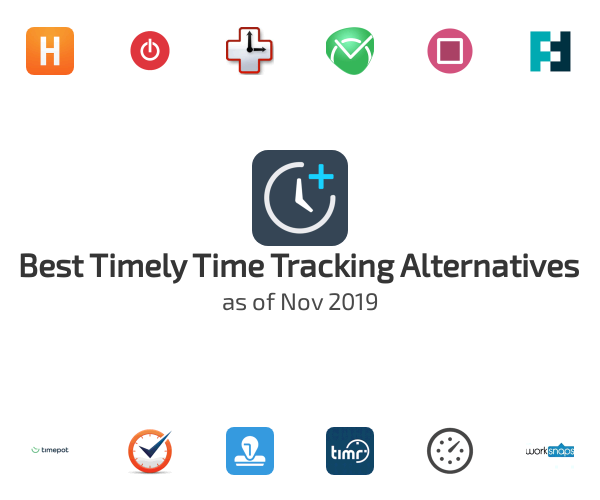 Best Timely Time Tracking Alternatives