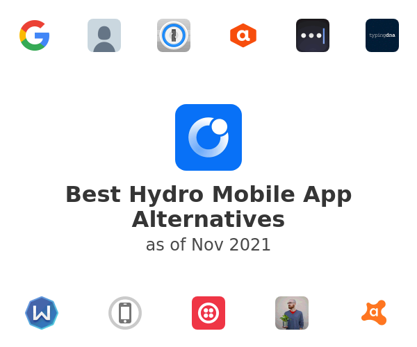 Best Hydro Mobile App Alternatives