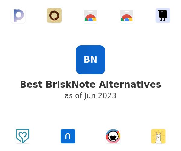 Best BriskNote Alternatives