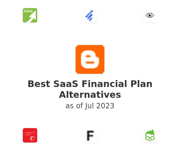 Best SaaS Financial Plan Alternatives