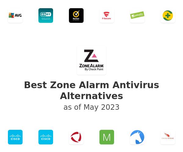 Best Zone Alarm Antivirus Alternatives