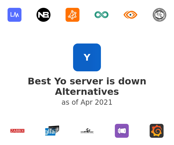 Best Yo server is down Alternatives