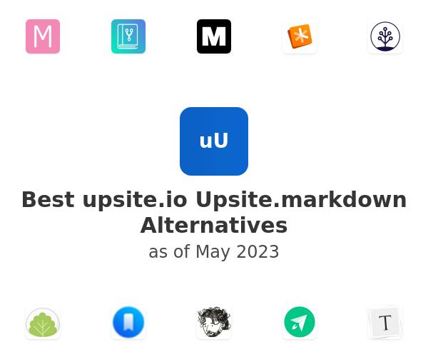 Best Upsite.markdown Alternatives