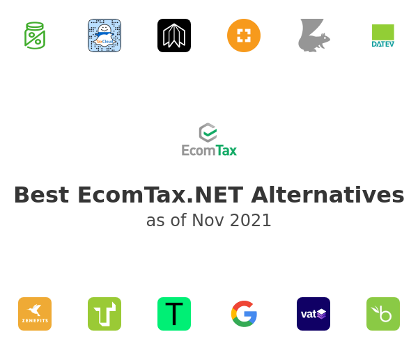 Best EcomTax.NET Alternatives