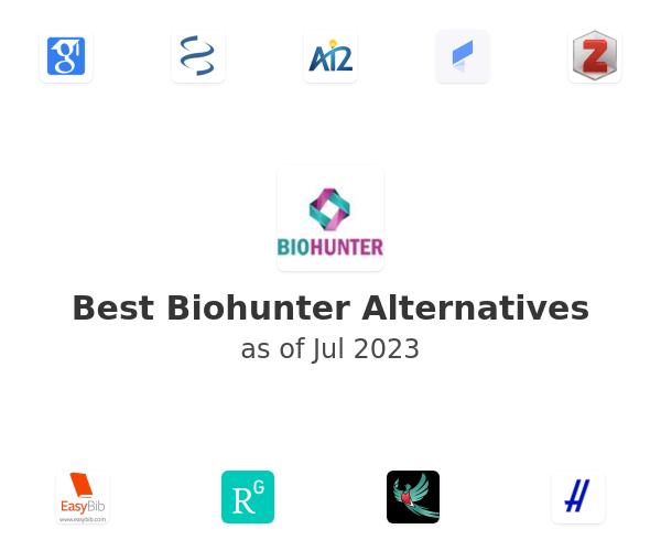 Best Biohunter Alternatives