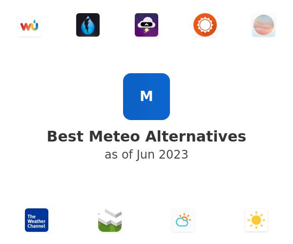 Best Meteo Alternatives
