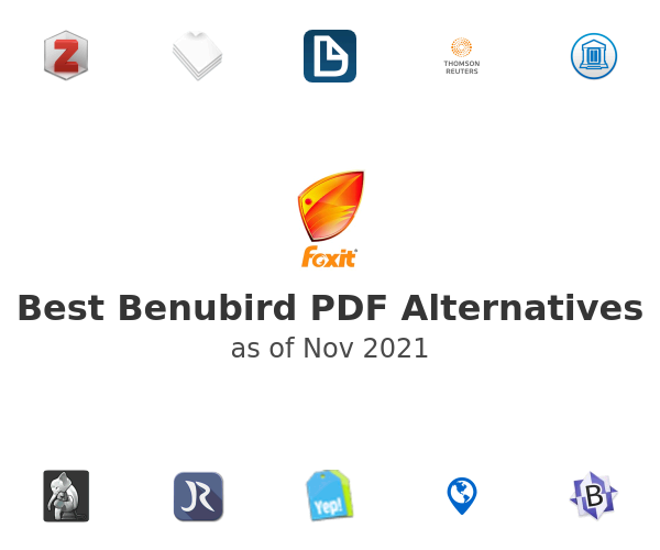 Best Benubird PDF Alternatives