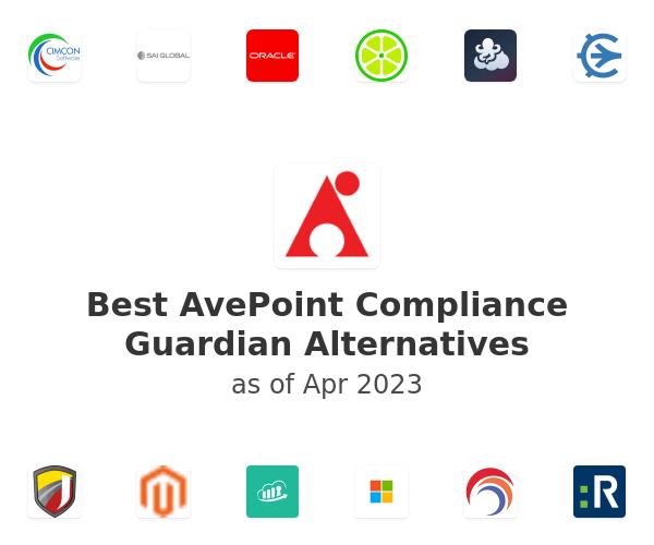 Best AvePoint Compliance Guardian Alternatives