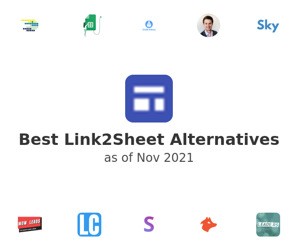 Best Link2Sheet Alternatives