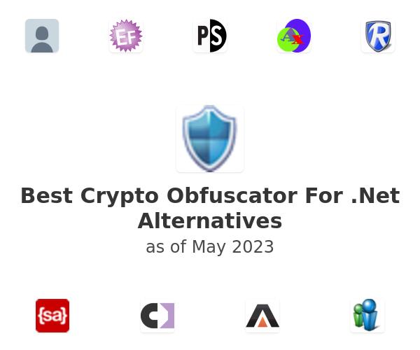Best Crypto Obfuscator For .Net Alternatives