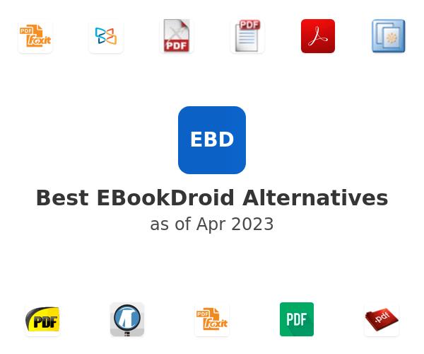Best EBookDroid Alternatives