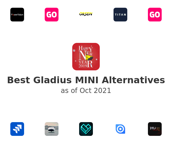 Best Gladius MINI Alternatives