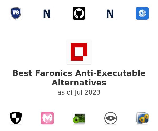 Best Faronics Anti-Executable Alternatives