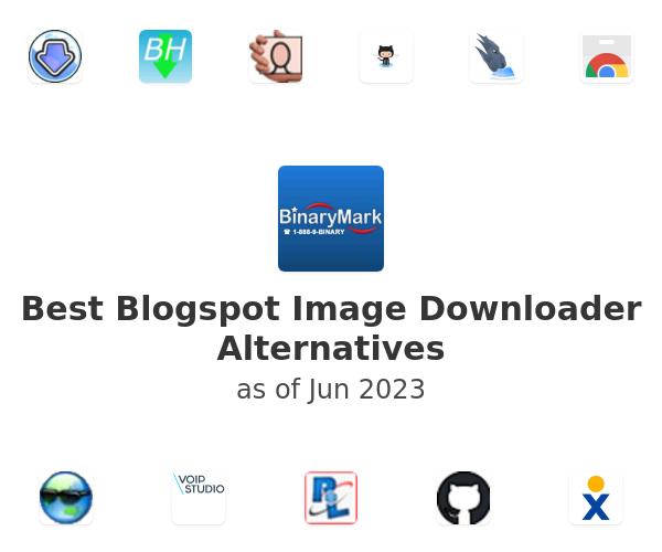 Best Blogspot Image Downloader Alternatives