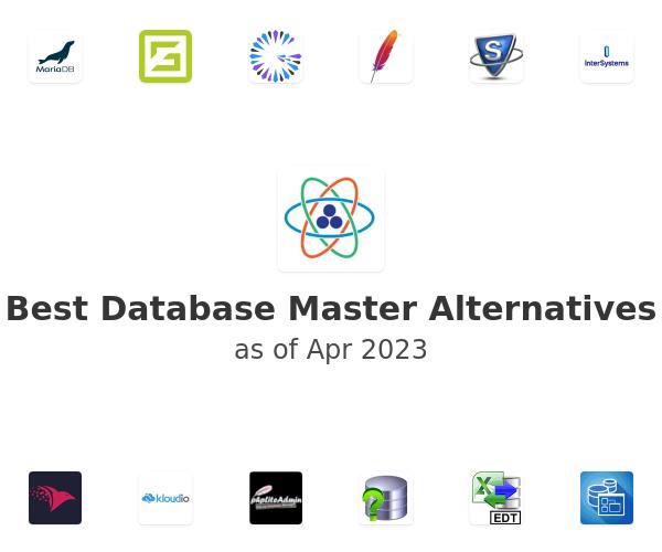 Best Database Master Alternatives
