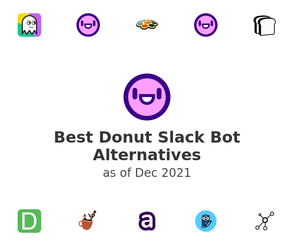 Best Donut Slack Bot Alternatives