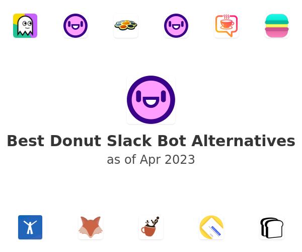 Best Donut Slack Bot Alternatives