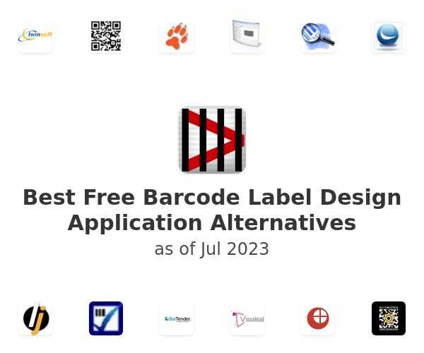 Best Free Barcode Label Design Application Alternatives