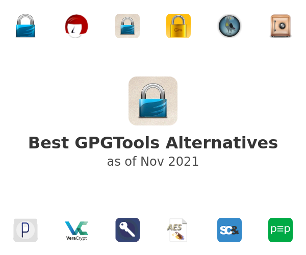 Best GPGTools Alternatives