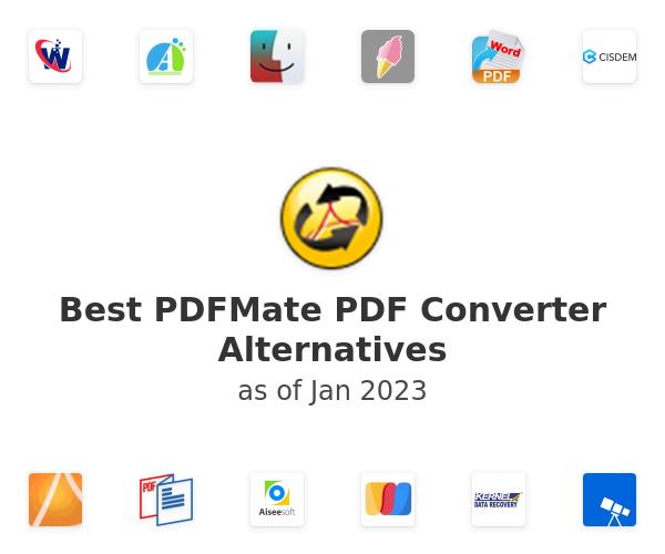 Best PDFMate PDF Converter Alternatives