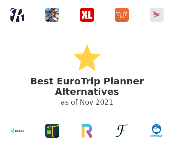 Best EuroTrip Planner Alternatives
