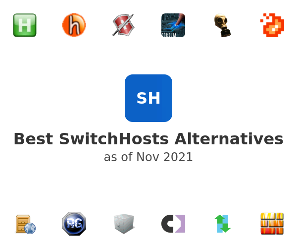 Best SwitchHosts Alternatives