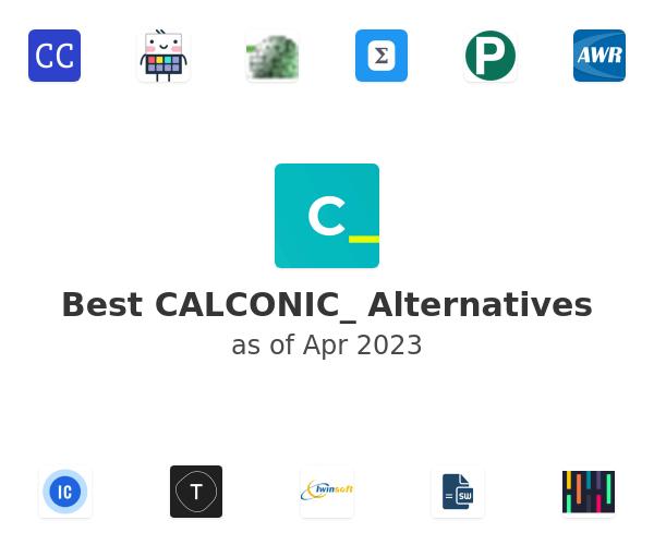 Best CALCONIC_ Alternatives