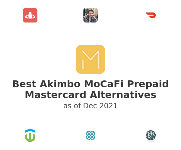 Best Akimbo MoCaFi Prepaid Mastercard Alternatives