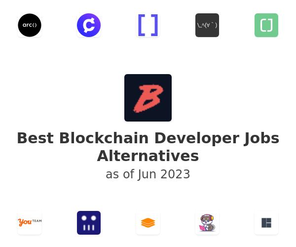 Best Blockchain Developer Jobs Alternatives