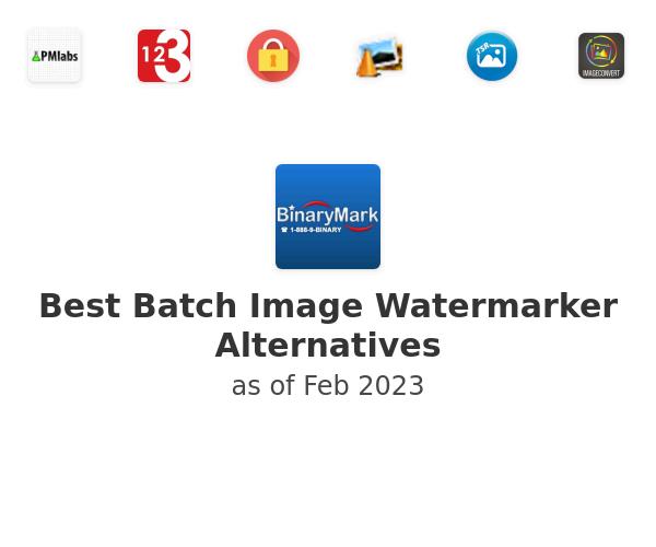 Best Batch Image Watermarker Alternatives