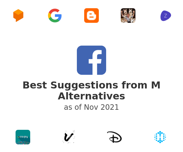 Best Suggestions from M Alternatives