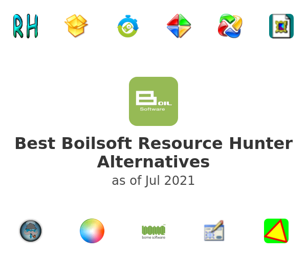 Best Boilsoft Resource Hunter Alternatives