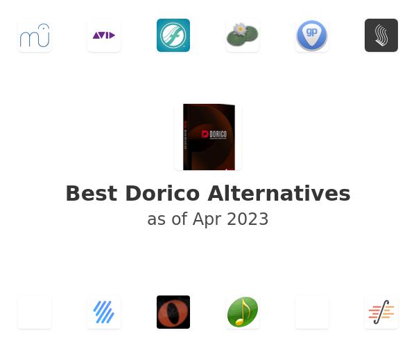 Best Dorico Alternatives