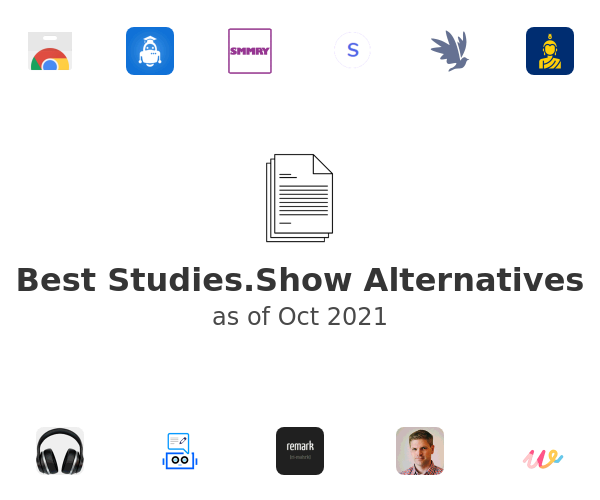 Best Studies.Show Alternatives