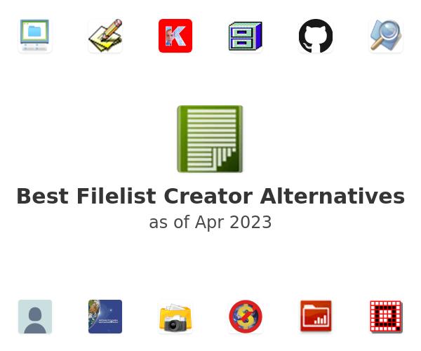 Best Filelist Creator Alternatives