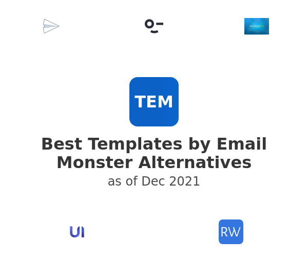 Best Templates by Email Monster Alternatives