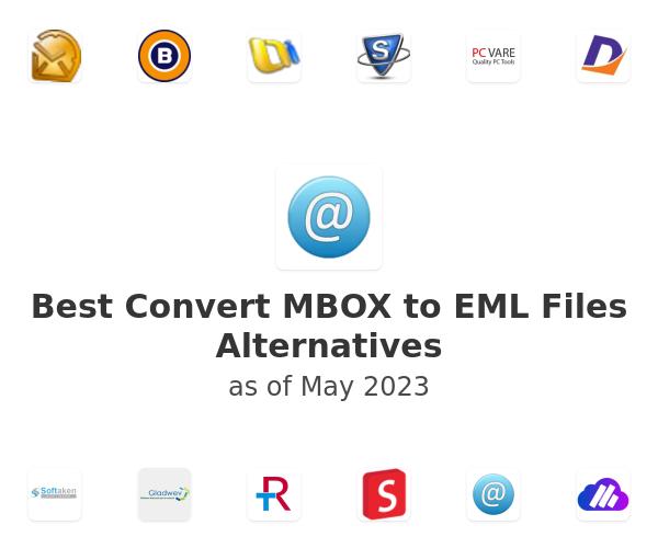 Best Convert MBOX to EML Files Alternatives