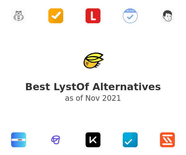Best LystOf Alternatives