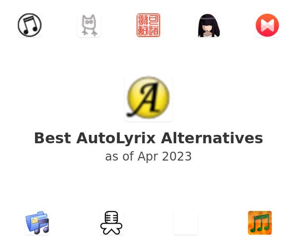 Best AutoLyrix Alternatives
