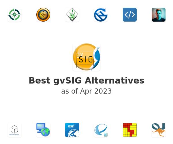 Best gvSIG Alternatives