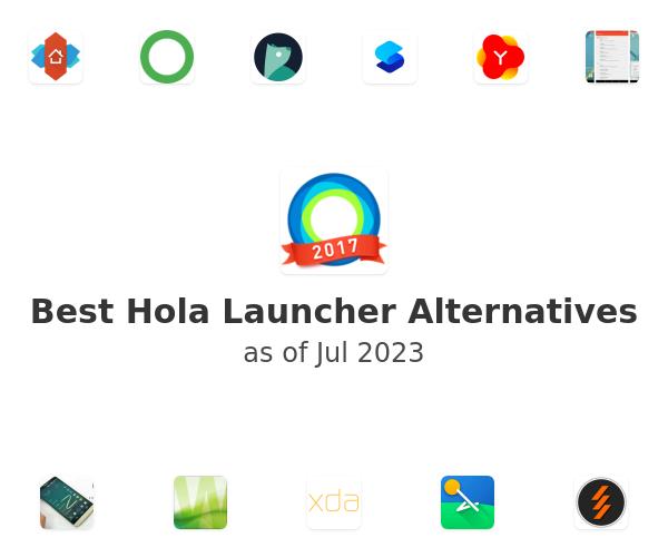 Best Hola Launcher Alternatives