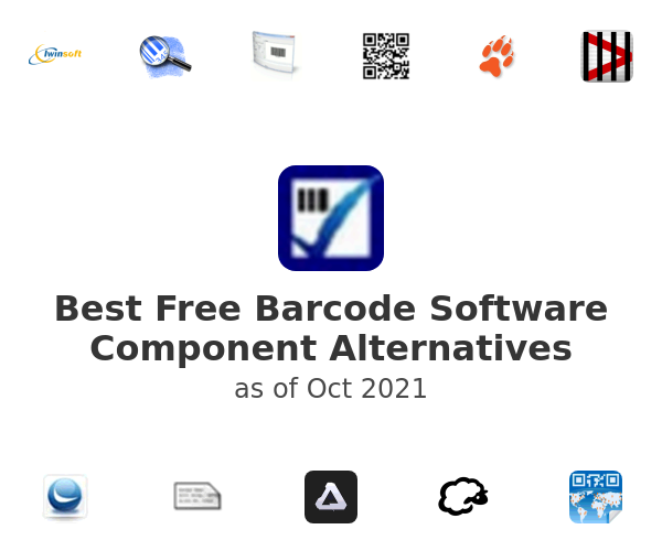 Best Free Barcode Software Component Alternatives