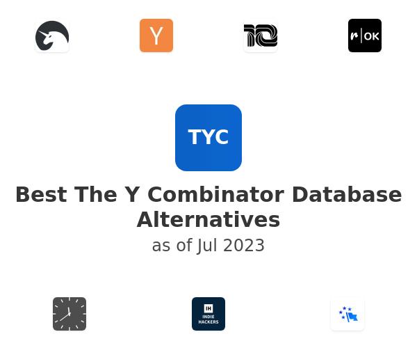 Best The Y Combinator Database Alternatives