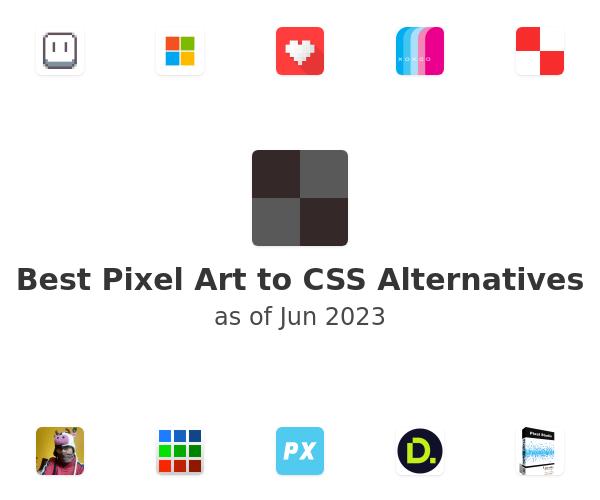 Best Pixel Art to CSS Alternatives