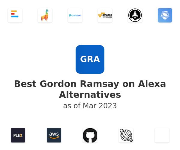 Best Gordon Ramsay on Alexa Alternatives