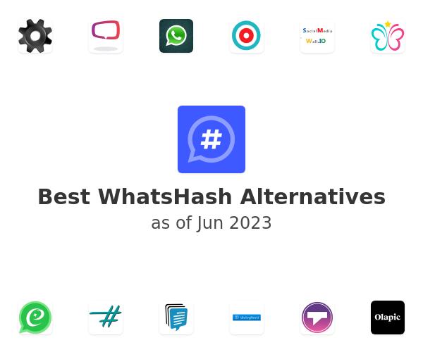 Best WhatsHash Alternatives