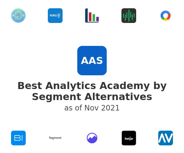 Best Analytics Academy by Segment Alternatives